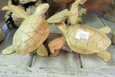 Parasite Wooden Turtles